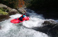 Fall's cevenol kayak